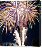 Fireworks No.4 Canvas Print