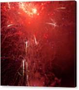 Fireworks Over Humboldt Bay Canvas Print