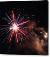 Fireworks Twenty Eleven Iv Canvas Print