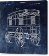 First Ambulance Patent Canvas Print