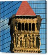 First Baptist Church Of Boston Canvas Print