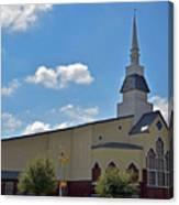 First Baptist Church - Pflugerville Texas Canvas Print
