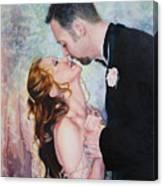 First Dance Canvas Print
