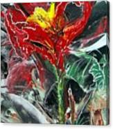 First Encaustic Canvas Print