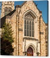 First Evangelical Presbyterian Church Canvas Print