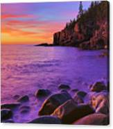 First Light At Boulder Beach Canvas Print