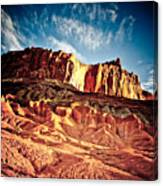 First Light At Capitol Reef Canvas Print