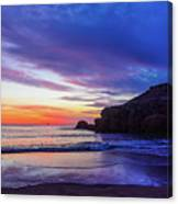 First Light At Trow Rocks. Canvas Print