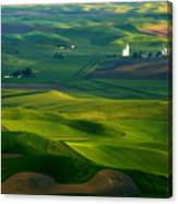 First Light On The Palouse Canvas Print
