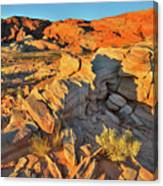 First Light On Valley Of Fire State Park Canvas Print