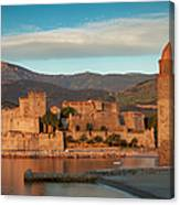 First Light Over Collioure Canvas Print