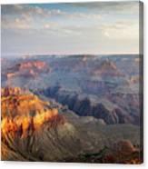 First Light Over Grand Canyon, Arizona, Usa Canvas Print