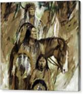First Nation 67r Canvas Print