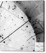 First Neutrino Interaction, Bubble Canvas Print