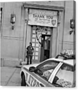 First Precinct Nyc Canvas Print