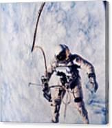 First Spacewalk Canvas Print