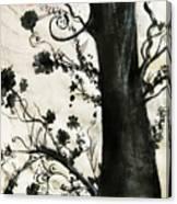 First Tree Canvas Print