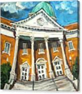 First United Methodist Church Athens Al Canvas Print