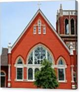 First United Methodist Church Tupelo Ms Canvas Print