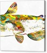 Fish Art Catfish Canvas Print