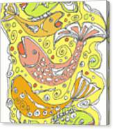 Fish Fish Canvas Print