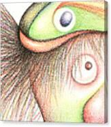 Fish Head Canvas Print