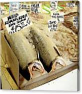 Fish Market Canvas Print