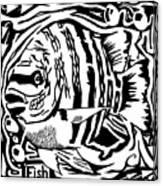 Fish Maze Canvas Print