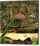 Fish Of The Brick Canvas Print