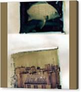 Fish Over Paris Canvas Print