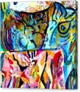 Fish Pot Canvas Print