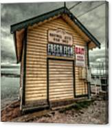 Fish Shed Canvas Print