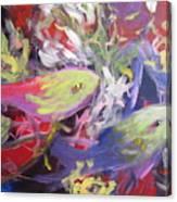 Fish Symphony  Canvas Print