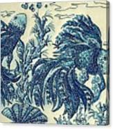 Fish Tangled 3 Canvas Print