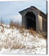 Fisher Covered Railroad Bridge Canvas Print
