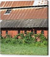 Fisher Road Barn 3 Photograph Canvas Print