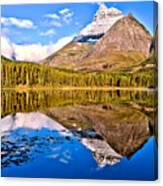 Fishercap Blue Reflections Canvas Print