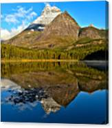 Fishercap Snowcap Reflections Canvas Print