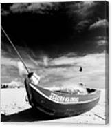 Fisherman Boat Canvas Print
