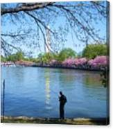 Fisherman In Dc Canvas Print
