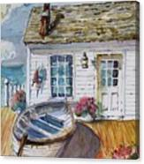 Fisherman's Cottage Canvas Print