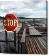 Fishermans Dock Canvas Print