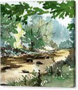 Fisherman's Paradise Canvas Print