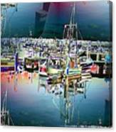 Fishermans Terminal 3 Canvas Print