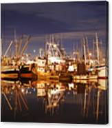 Fishermans Terminal Canvas Print