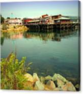 Fishermans Wharf Monterey Ca II Canvas Print