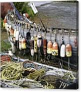 Fishermen's Supplies Canvas Print