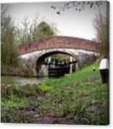 Fisheye Bridge Canvas Print