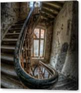 Fisheye Stairs Canvas Print