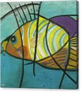 Fishfish Canvas Print